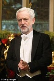 corbyn white tie